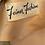 Thumbnail: VTG FEINER FASHION PEACHY PINK DRESSING GOWN 1940'S 36 SATIN RAYON