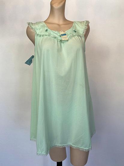 VTG NOSWTAGS Flirty Kayser Nylon Tricot Babydoll Nightgown Dress & Panties SZ Sm