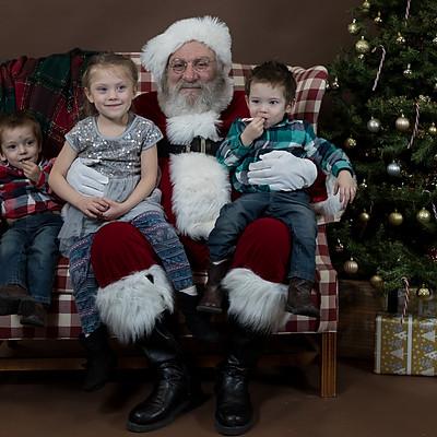 Photos with Santa 2018