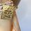 Thumbnail: VTG NOSWTAGS Satin Rayon Peach Ivory Lace Inserts Slip Dress sz 36