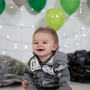 Harlan's First Birthday