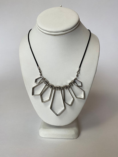 Silver Pointed Necklace