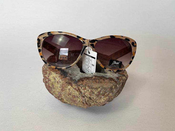 Leopard Print with Orange Sunglasses