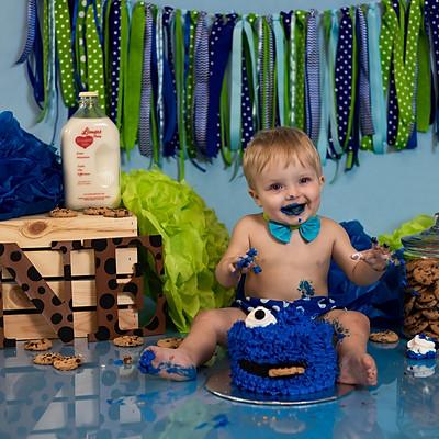 Brantley's First Birthday