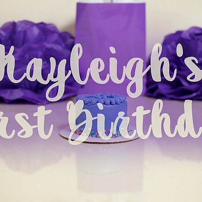 Kayleigh's First Birthday