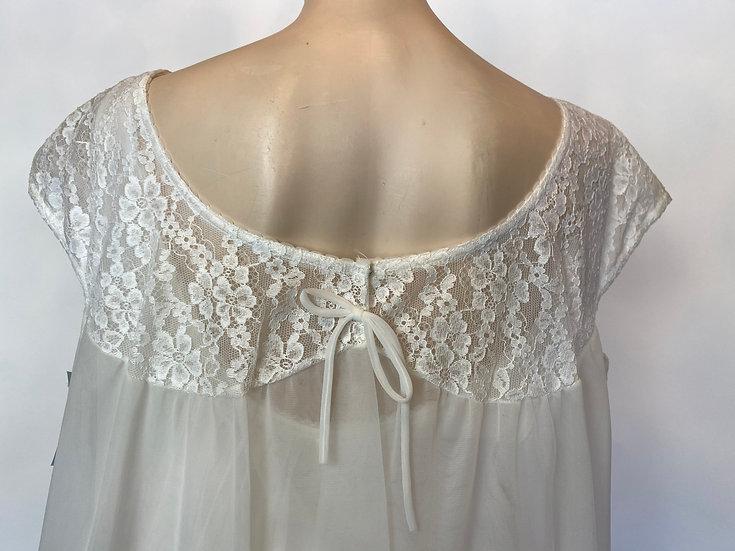 VTG NOSWTAGS Formfit Rogers Wedding DBL Peignoir & Nightgown Dress Set SZ L