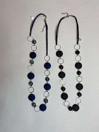 Blue or Black Necklaces