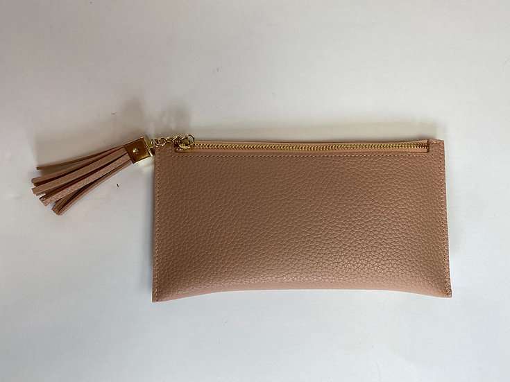 Blush Card Insert Leather Wallet