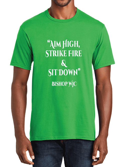 """Aim High..."" WJC Tee"