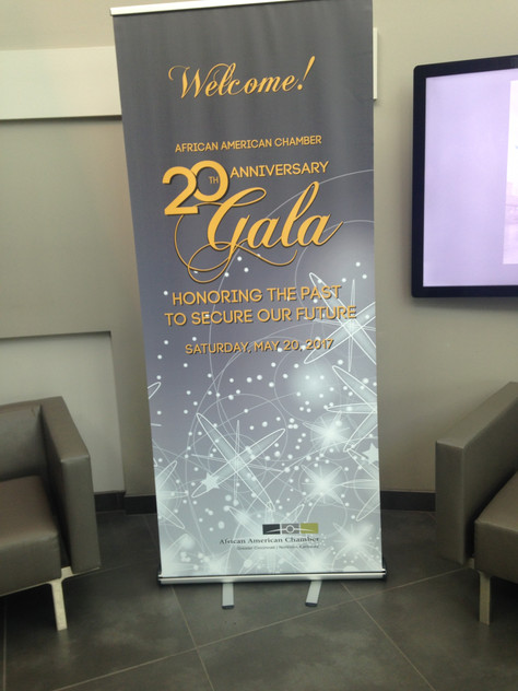 EVENT SIGNAGE - AACC
