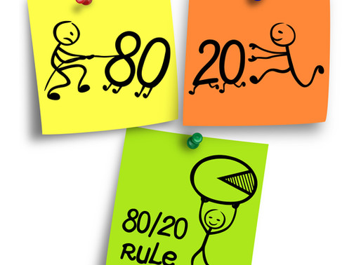 Using the 80/20 Rule to Prepare Your Marketing  Plan!