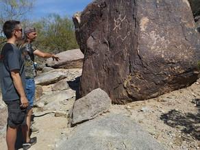 The Phoenix Lights Petroglyphsinthesky
