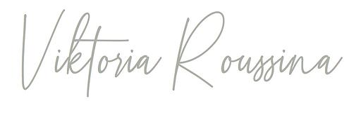 Viktoria Roussina Storyteller Logo