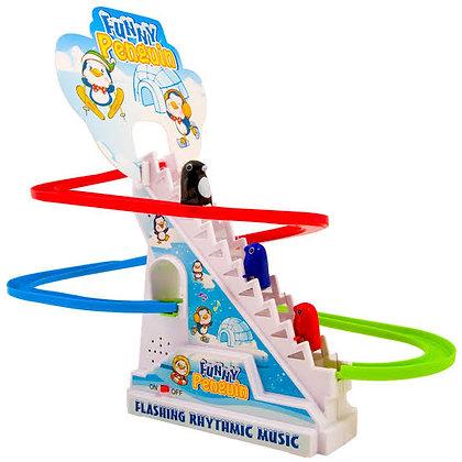 Երաժշտական խաղալիք սահող պինգվիններ