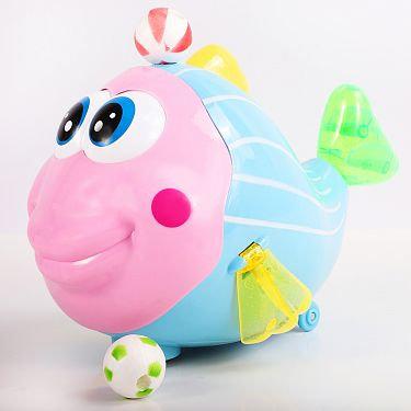 Երաժշտական խաղալիք գնդակ փչող ձկնիկ էլ.