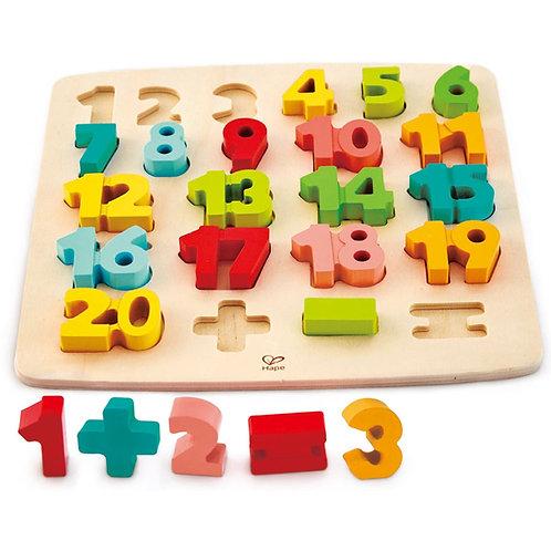 Փայտե թվեր 1-20