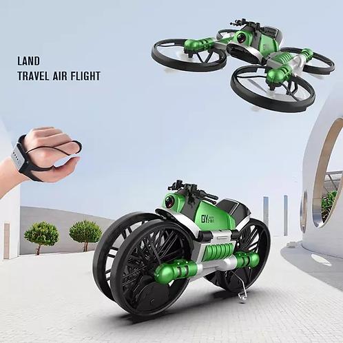 Հեռակառավարվող տրանսֆորմեր մոտոցիկլետ-դրոն