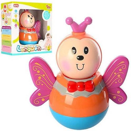 Ճոճվող խաղալիք Неваляшка Թիթեռնիկ