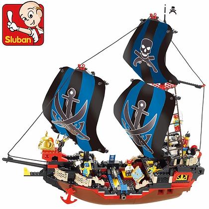 Կոնստրուկտոր նավակ պիռատներ  512 կտոր