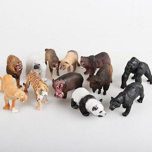 Վայրի կենդանիներ տուփով