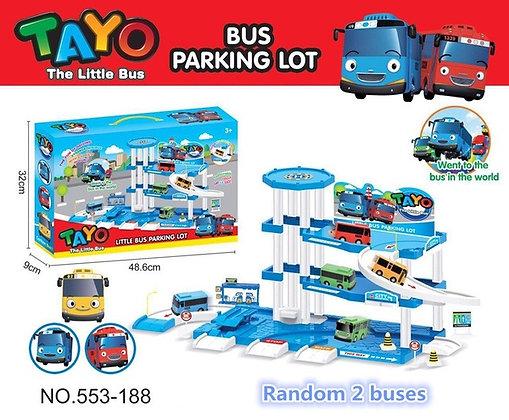 Tayo ավտոբուսների մեծ կայանատեղի