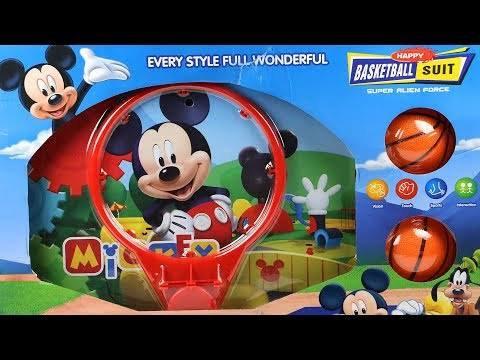 Բասկետբոլի ցանց ձողով  Mickey Mouse