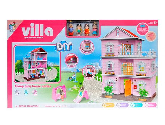 Եռահարկ խաղալիք տնակ Villa