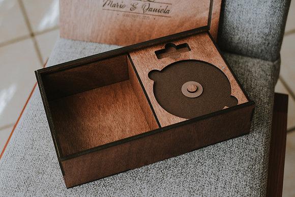 """Caja para fotos 4x6"""" ó 5x7"""" Rectangular"""