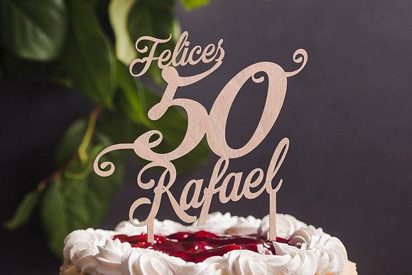 Cake Topper, Felices Años