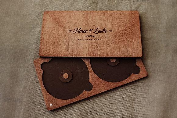 Caja para DVD - 2 discos