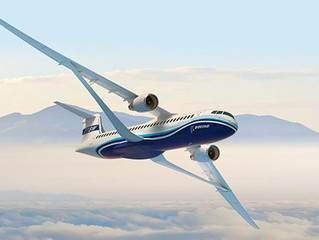 (TEST YOUR ENGLISH) Boeing unveils ultra thin, folding wing concept