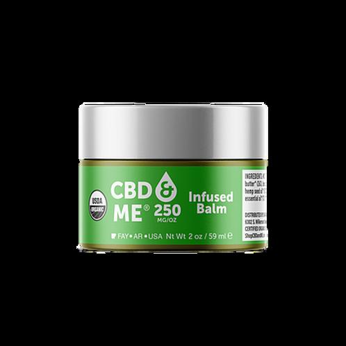 CBD & Me: Organic Balm with Hemp Extract - 250 mg/oz (2oz)CBD & Me: Organic Balm