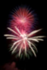 Feuerwerk 1. August Silvester Hochzeit