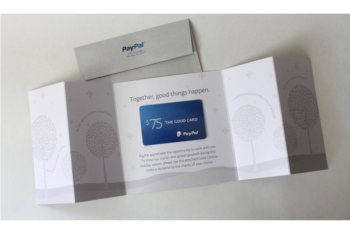PayPal Thanksgiving Card