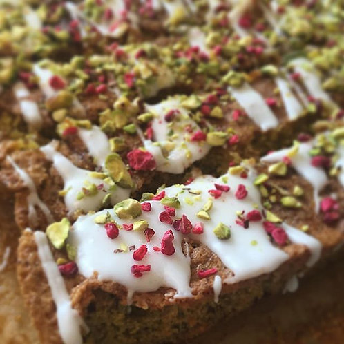 Pistachio and Lime Slices