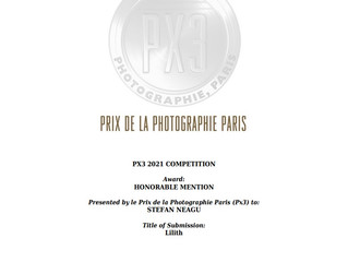 """""""Lilith"""" - Honorable Mention at PX3 Awards 2021"""
