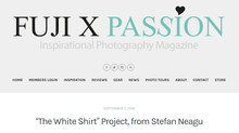 """The White Shirt"" project featured in Fuji X Passion"
