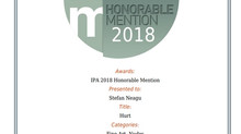 Two Honorable Mentions at IPA 2018