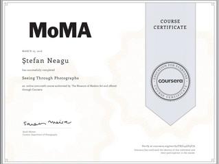 "MoMA ""Seeing Through Photographs"" Course"
