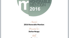 Two Honorable Mentions at IPA 2016