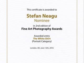 Nominee at the 2nd Fine Art Photography Awards