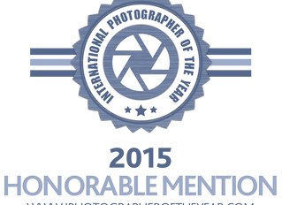Honorable Mention at IPOTY 2015