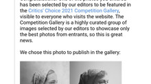 Featured in LensCulture contest gallery Critics' Choice 2021