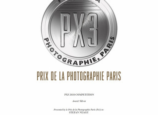 Second prize at PX3, Prix de la Photographie Paris 2018