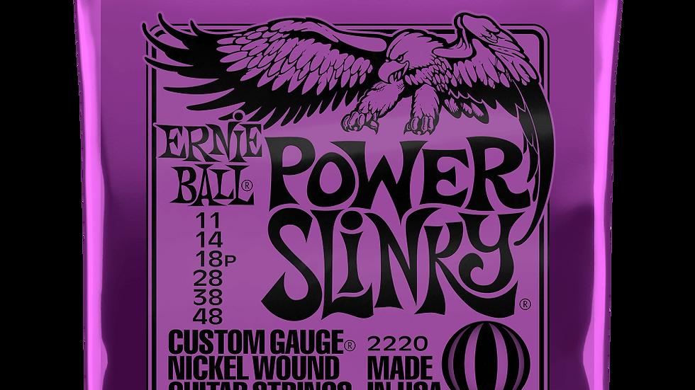 Ernie Ball Power Slinky Electric Guitar 11 - 48