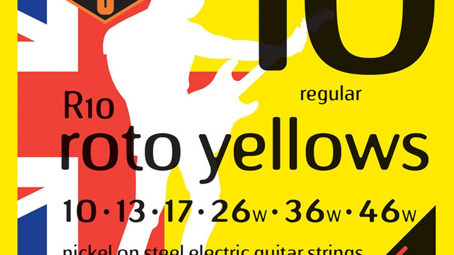 Rotosound Roto Yellow R10 Regular Electric Guitar Strings 10-46