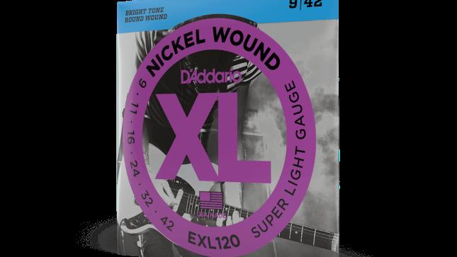 D'addario EXL120 Electric Guitar Strings 9-42
