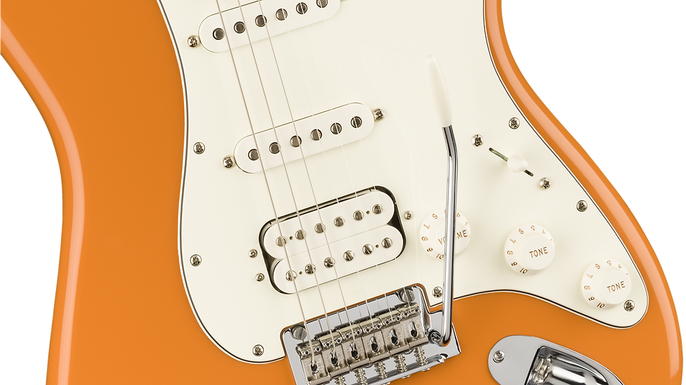 Fender Player Stratocaster HSS, Pau Ferro Fingerboard, Capri Orange