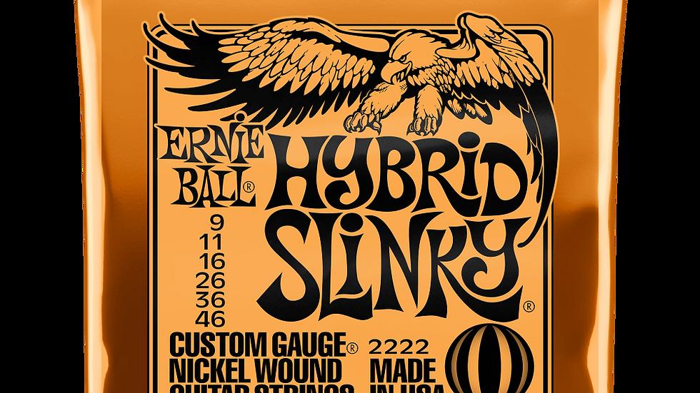 Ernie Ball Hybrid Slinky Electric Guitar Strings 9 - 46