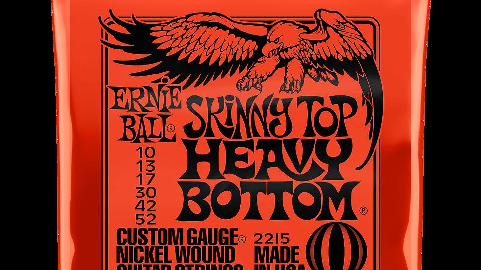 Ernie Ball Skinny Top Heavy Bottom Electric Guitar Strings 10 - 52